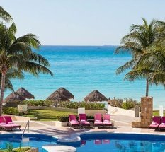 Piscina Hotel Krystal Grand Punta Cancún Cancún