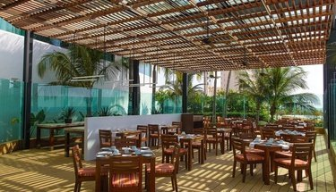 Terraço restaurante Hotel Krystal Grand Punta Cancún Cancún