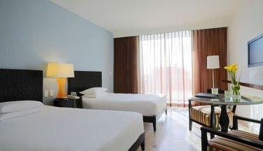 Quarto duplo deluxe Hotel Krystal Grand Punta Cancún Cancún