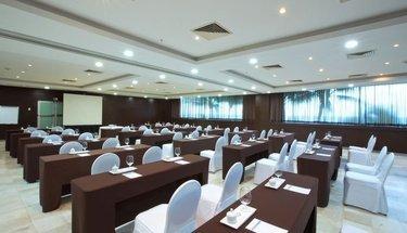Sala de reuniões Arena & Brisa Hotel Krystal Grand Punta Cancún Cancún